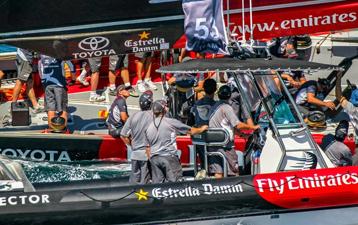 Prada & America's Cup support boats to save lives around New Zealand