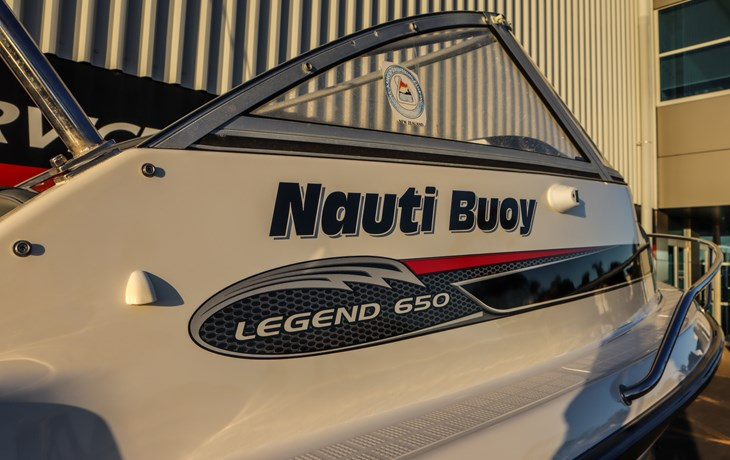 Rayglass Legend 650 restoration project - Nauti Buoy