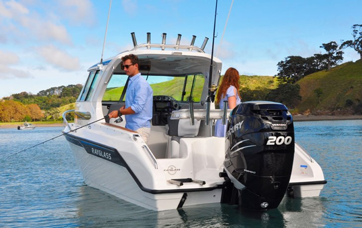 RAYGLASS LEGEND 2200 AND 2350: THE ULTIMATE EASY FISHING BOATS