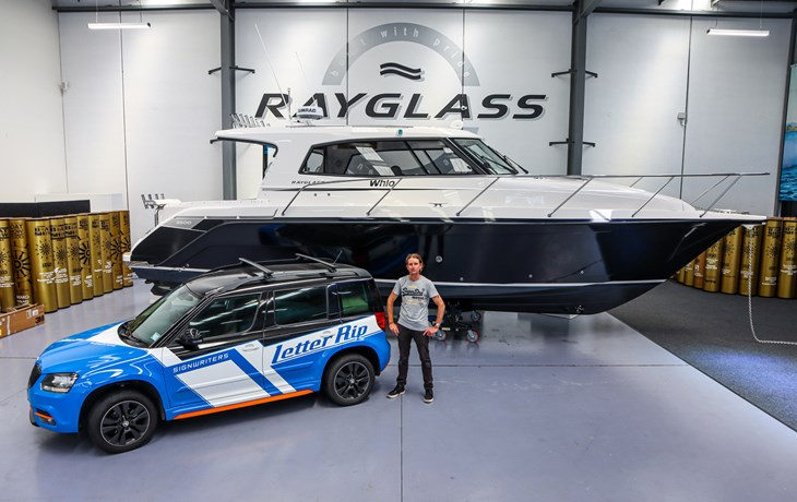 Meet Steve at Letter Rip: The legend behind Rayglass's graphics and wraps